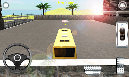 Bus Parking Simulation 3D Game