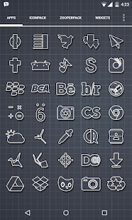 Outcast Icons Theme Screenshot