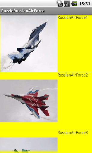 Puzzle Russian Air Force