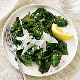Lemon-Garlic Swiss Chard