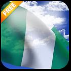 3D Nigeria Flag Live Wallpaper icon