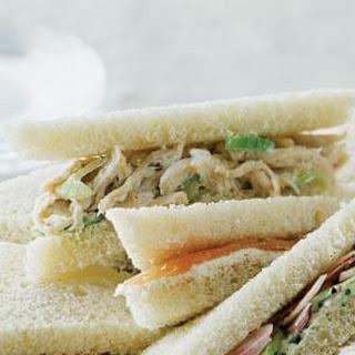 Lemon-Chicken Salad Sandwiches.