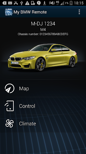 My BMW Remote