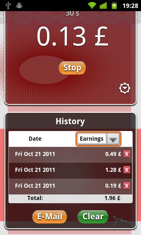 Pay Timer Free- screenshot