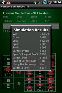 Win Roulette - Strategy Sim- screenshot thumbnail
