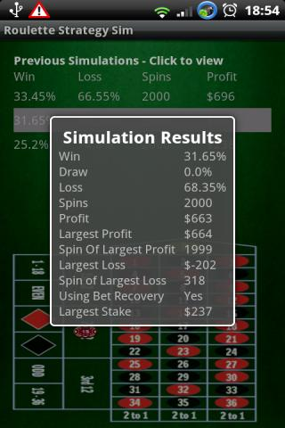 Win Roulette - Strategy Sim- screenshot