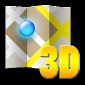 3D map Slovenia