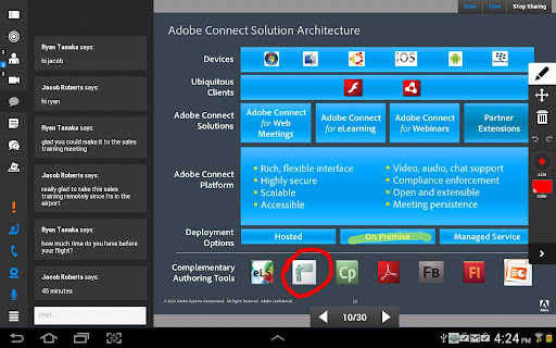 Adobe Connect  screenshots 7