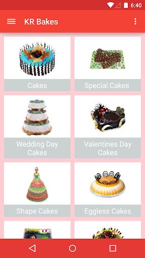 KR Bakes M-Cake Order