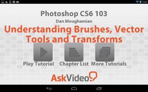 Photoshop CS6 Brushes Tools