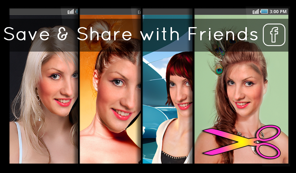 Pleasant Hairstyles Fun And Fashion Android Apps On Google Play Short Hairstyles Gunalazisus