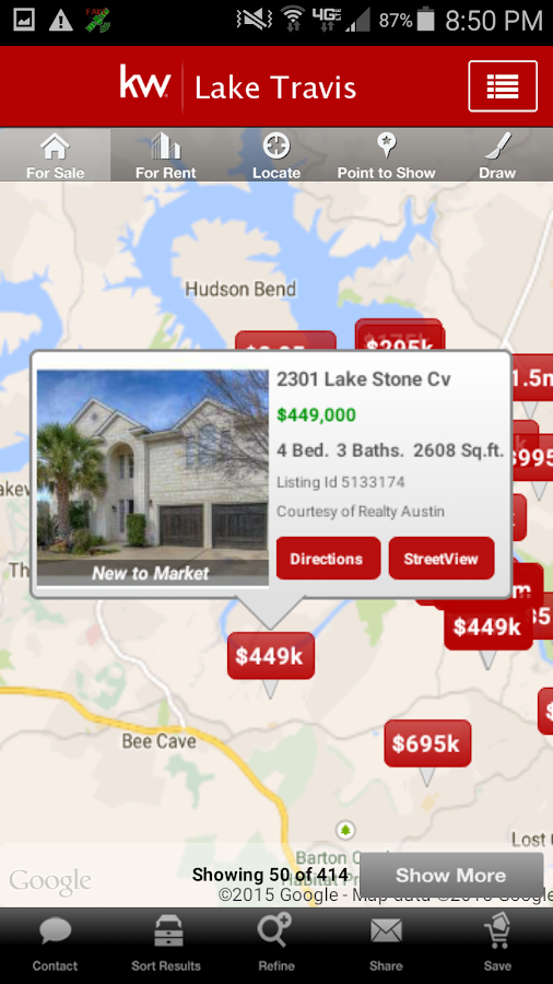 Keller Williams Real Estate - screenshot