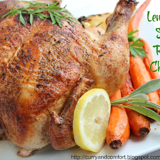 Lemon and Sage Roast Chicken