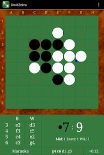 DroidZebra Reversi - screenshot thumbnail