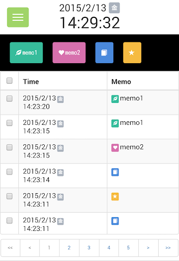 timemo:time and note recorder