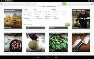 Screenshot of Vegan Recipes and Nutrition