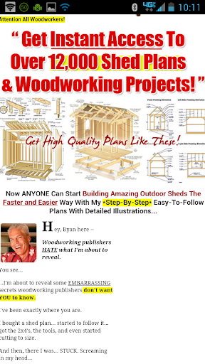 Shed House Plans Free