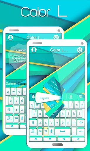 Color L GO Keyboard