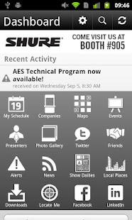 AES Mobile Convention 2012 - screenshot thumbnail