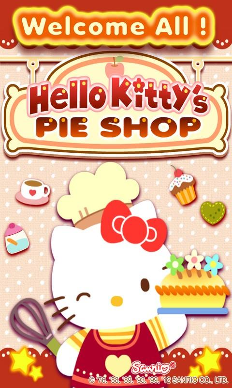 Hello Kitty's Pie Shop- screenshot