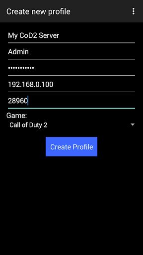 MRcon - Mobile Rcon