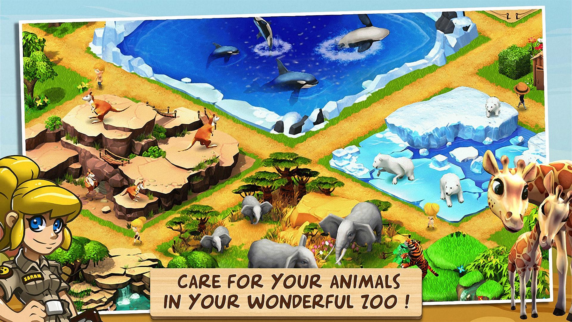 Wonder Zoo - Animal rescue ! screenshot #1