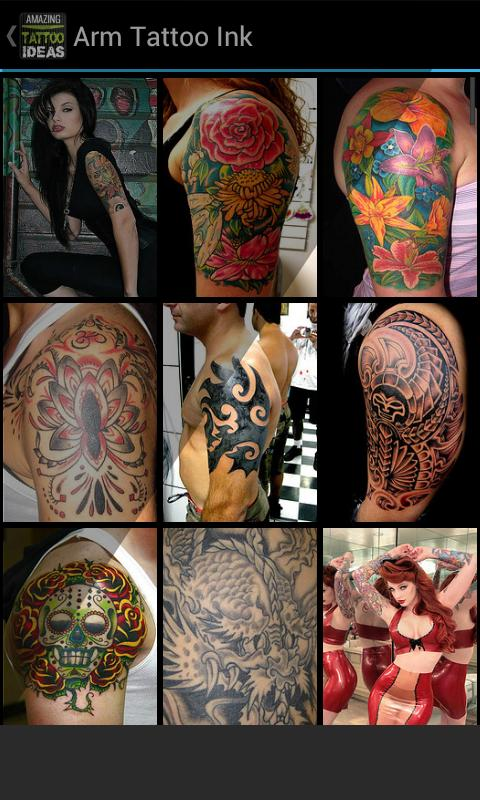Amazing Tattoo Ideas FREE - screenshot