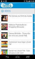 Screenshot of Litoral FM