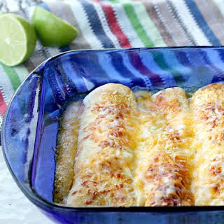 Honey Lime Chicken Enchiladas.