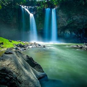 curug bengkawah by Dugalan Poto - Nature Up Close Water ( central java, dugalanisme, indonesia, dugalan, waterfall, keywording, stone, pemalang, bengkawah, curug, river,  )