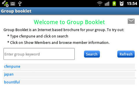 Group Booklet