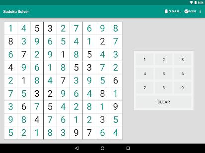Sudoku Solver - screenshot thumbnail