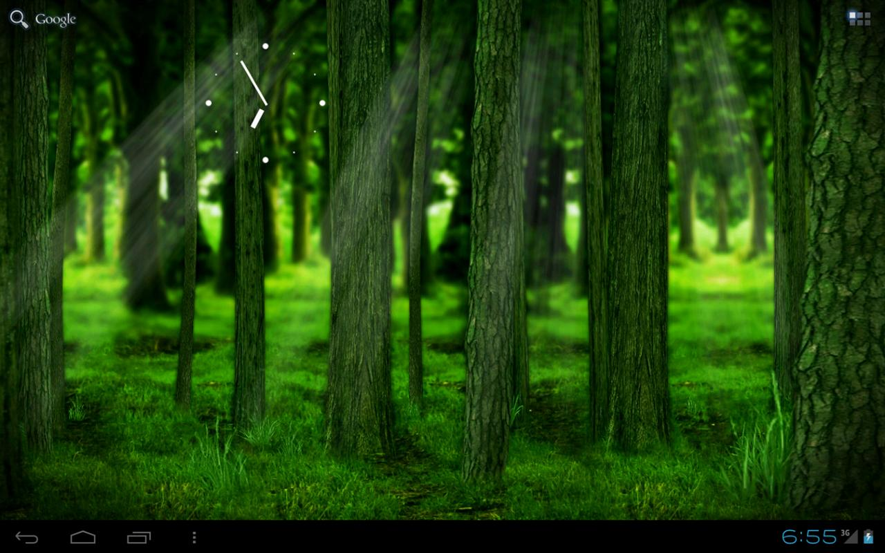 RealDepth Forest LWP - screenshot