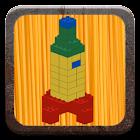 Vehicles with building bricks icon