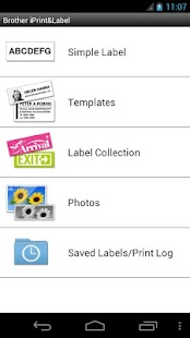 Brother iPrint&Label - screenshot thumbnail