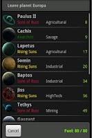 Screenshot of Space Trader