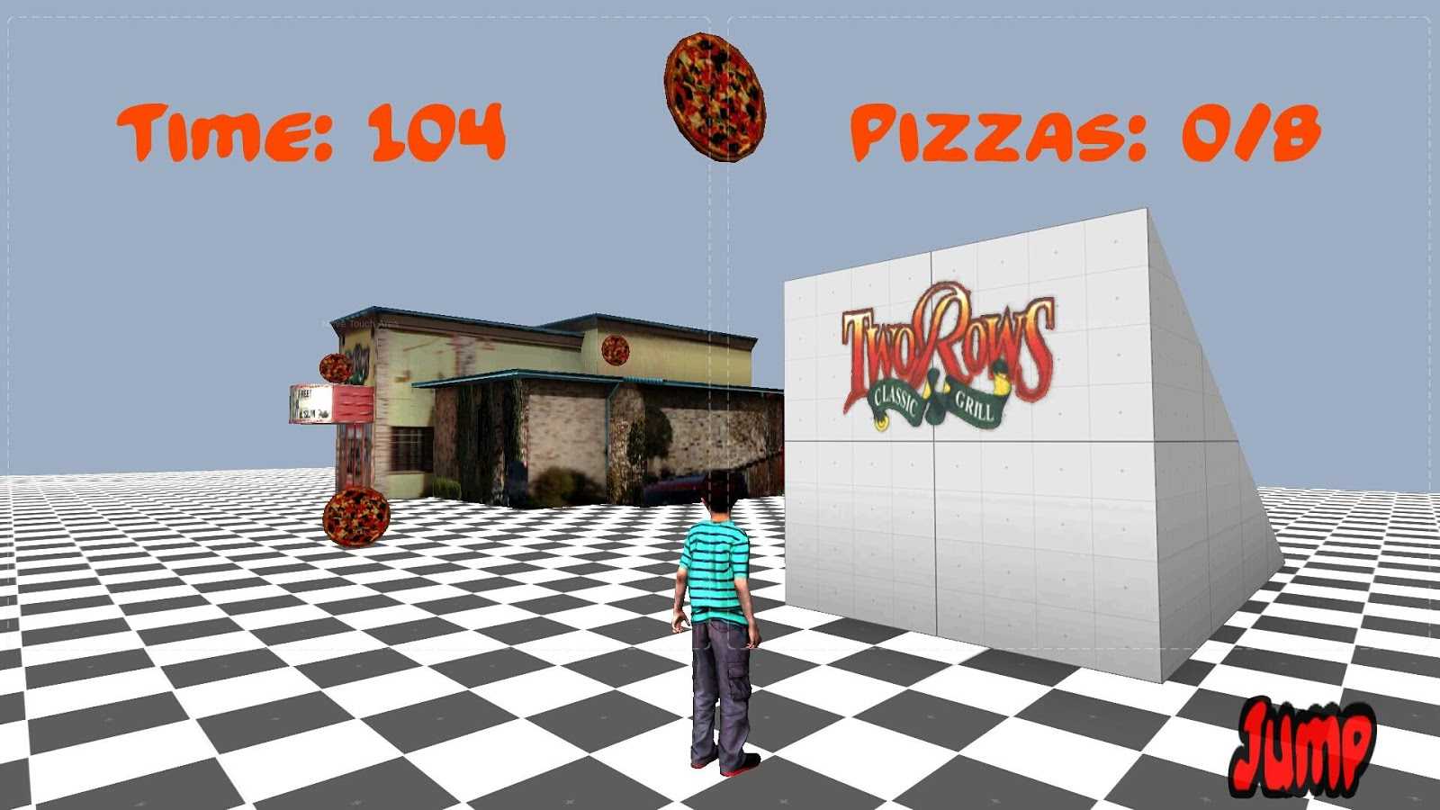 TwoRows Pizza- screenshot