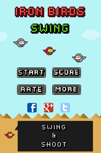 Swing Iron Birds