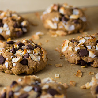 Vegan Toasted Coconut Chocolate Chip Cookies