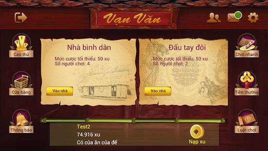 Chan Van Van Danh Chan Online