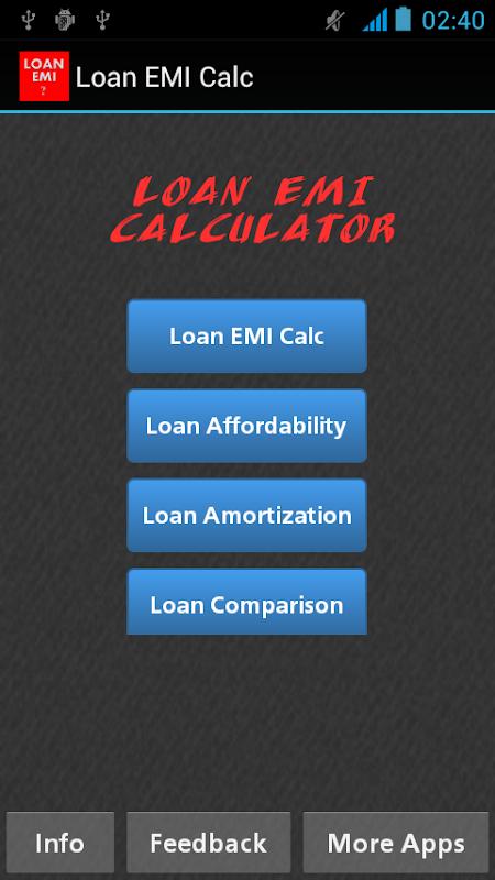 download loan mortgage emi calculator apk latest version app for