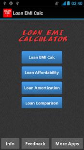 loan mortgage emi calculator apps on google play