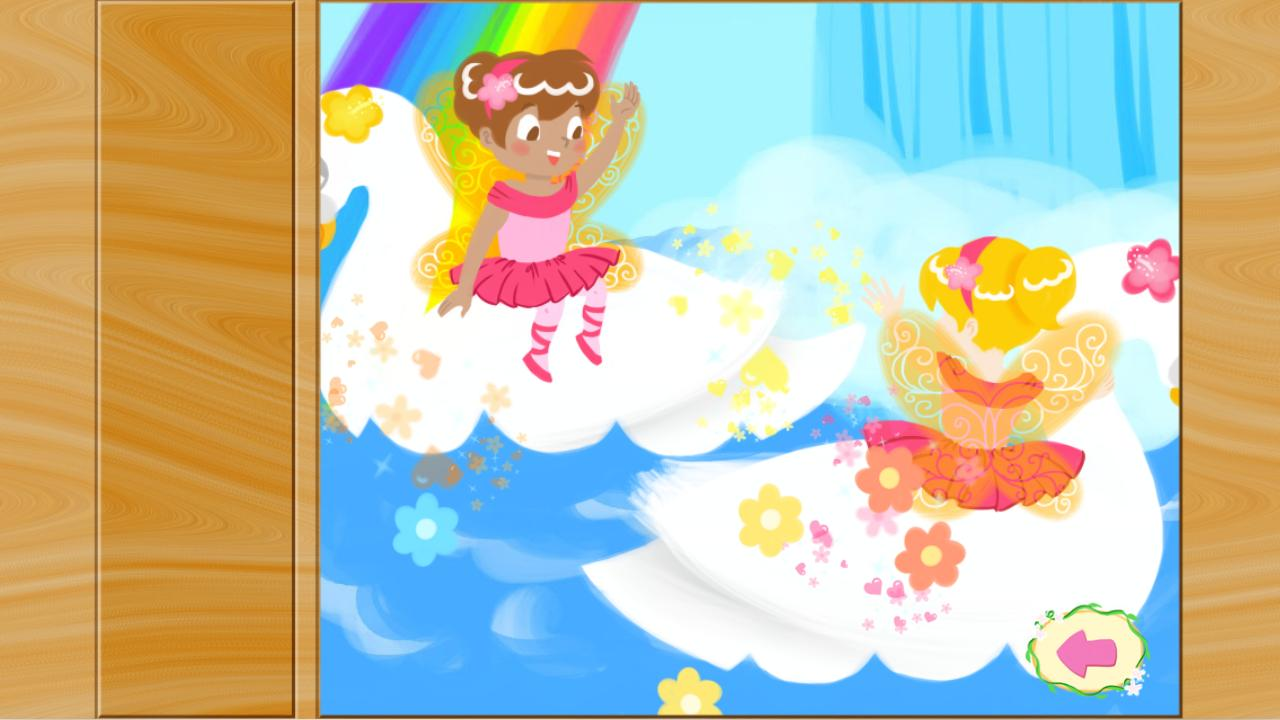 Fairy Ballerina Puzzles- screenshot