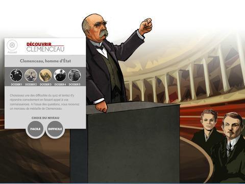 Du00e9couvrir Clemenceau, Le Quiz 1.0 screenshots 2