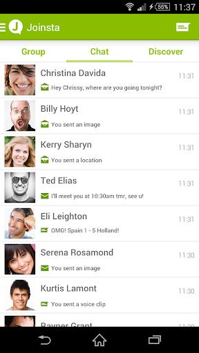 Joinsta Messenger 即時短信聊天