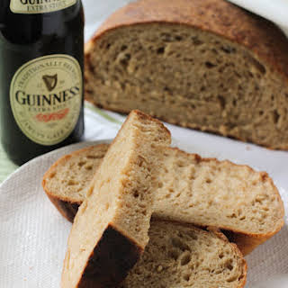 Irish Brown Bread (with Guinness!).