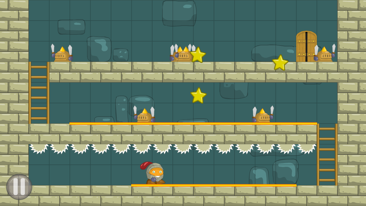 Orange knight Free - screenshot