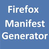 Firefox Manifest Generator