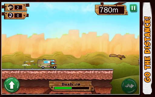 RV Runner: Drive Jump Trucks