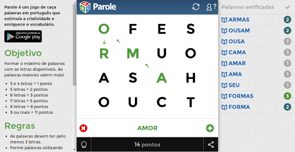Parole- screenshot thumbnail
